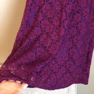 myan Dresses - Purple lace sundress